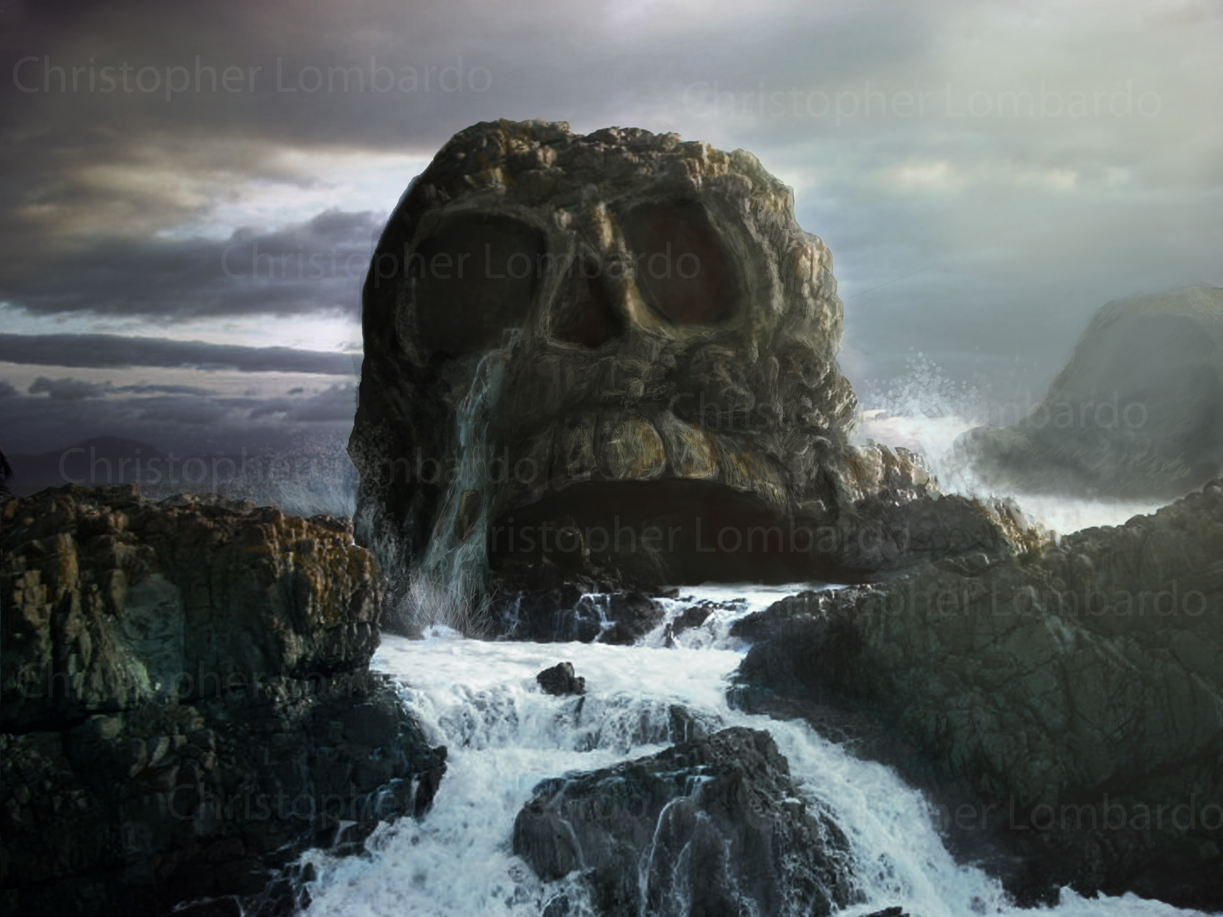Matte Paintings Collected Works Of Christopher Lombardo